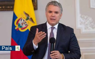 Ante eventual estampida de venezolanos a Colombia por la vacuna del covid-19, Duque pide apoyo de la comunidad y organismos internacionales
