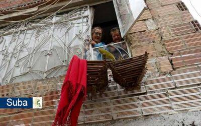 Una familia de 13 de venezolanos desesperados piden ayuda a gritos para comer en medio de la cuarentena en el barrio Bilbao Suba