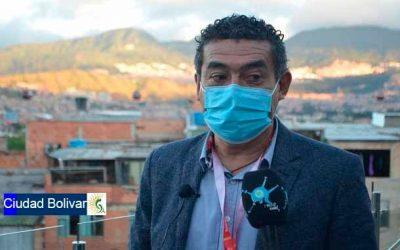 """""""Vamos a llevar a buen término la cuarentena"""": Horacio Guerrero, alcalde de Ciudad Bolívar"""