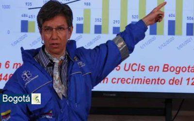 ¡Atención! toque de queda nocturno en Bogotá por diez días
