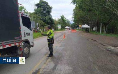 Capturados y judicializados en el sur del Huila cuatro venezolanos que viajaban en un tráiler con 20 kilos de marihuana y armas