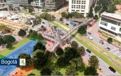 Inició la construcción del puente peatonal en la carrera 9 con calle 112